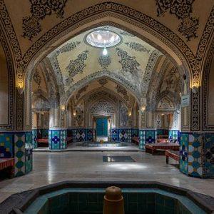 حمام سلطان امیراحمد کاشان