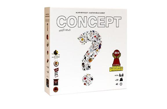 بازی فکری کانسپت Concept