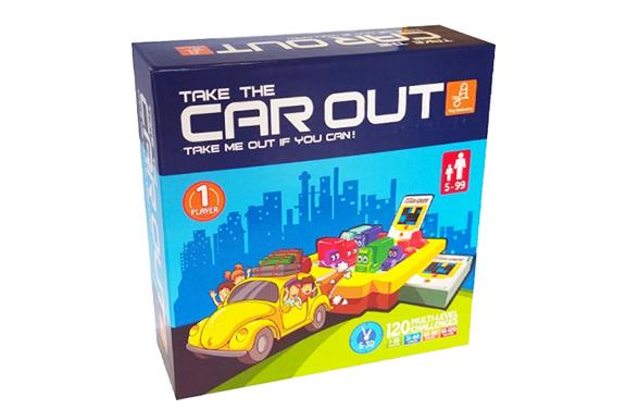 بازی فکری تیک کار اوت Take Car Out