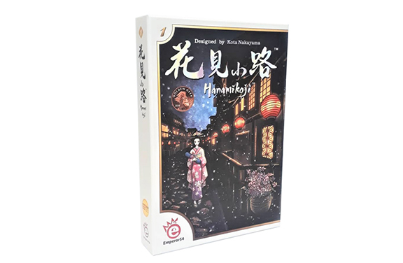 بازی فکری هانامیکوجی Hanamikoji