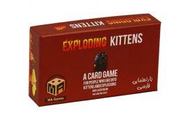 بازی فکری MA Games مدل اکسپلودینگ کیتنز Exploding Kittens همراه اکسپنشن