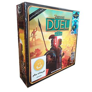 بازی فکری دوئل همراه با اکسپنشن پنتئون و سولو 7Wonders Duel Full-Pack