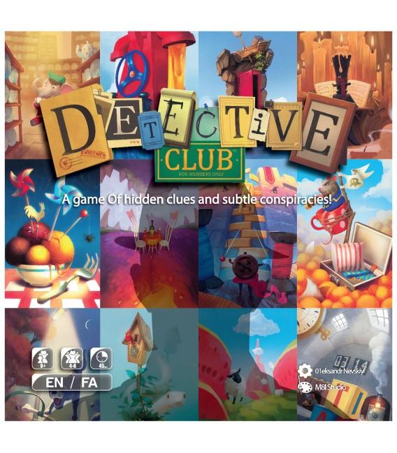 بازی فکری باشگاه کاراگاهان DETECTIVE CLUB