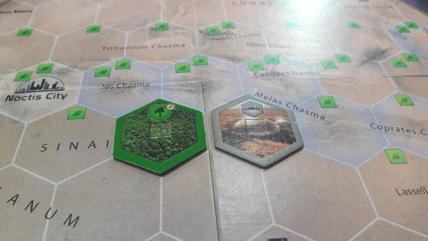 بازی فکری آسیا ادیشن مدل ترافورمینگ مارس Terraformin Mars