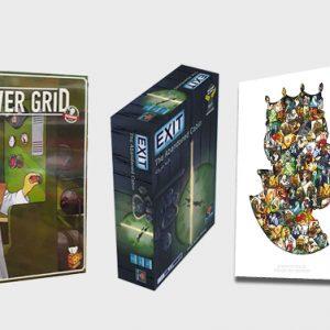باندل بازی های Paper tales و Power grid و Exit