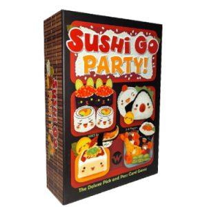 بازی فکری سوشی گو پارتی ترجمه بازی SUSHI GO PARTY